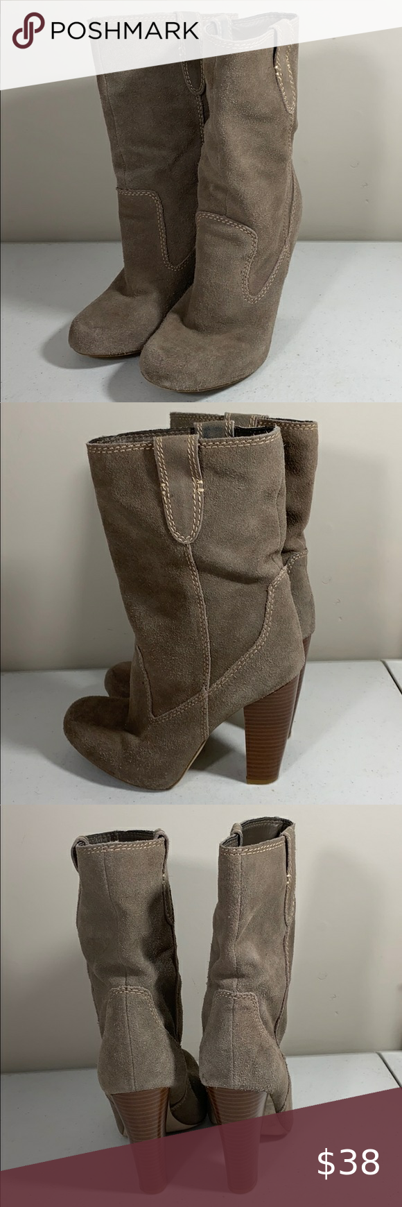 Mia Suede boots in 2020   Suede boots