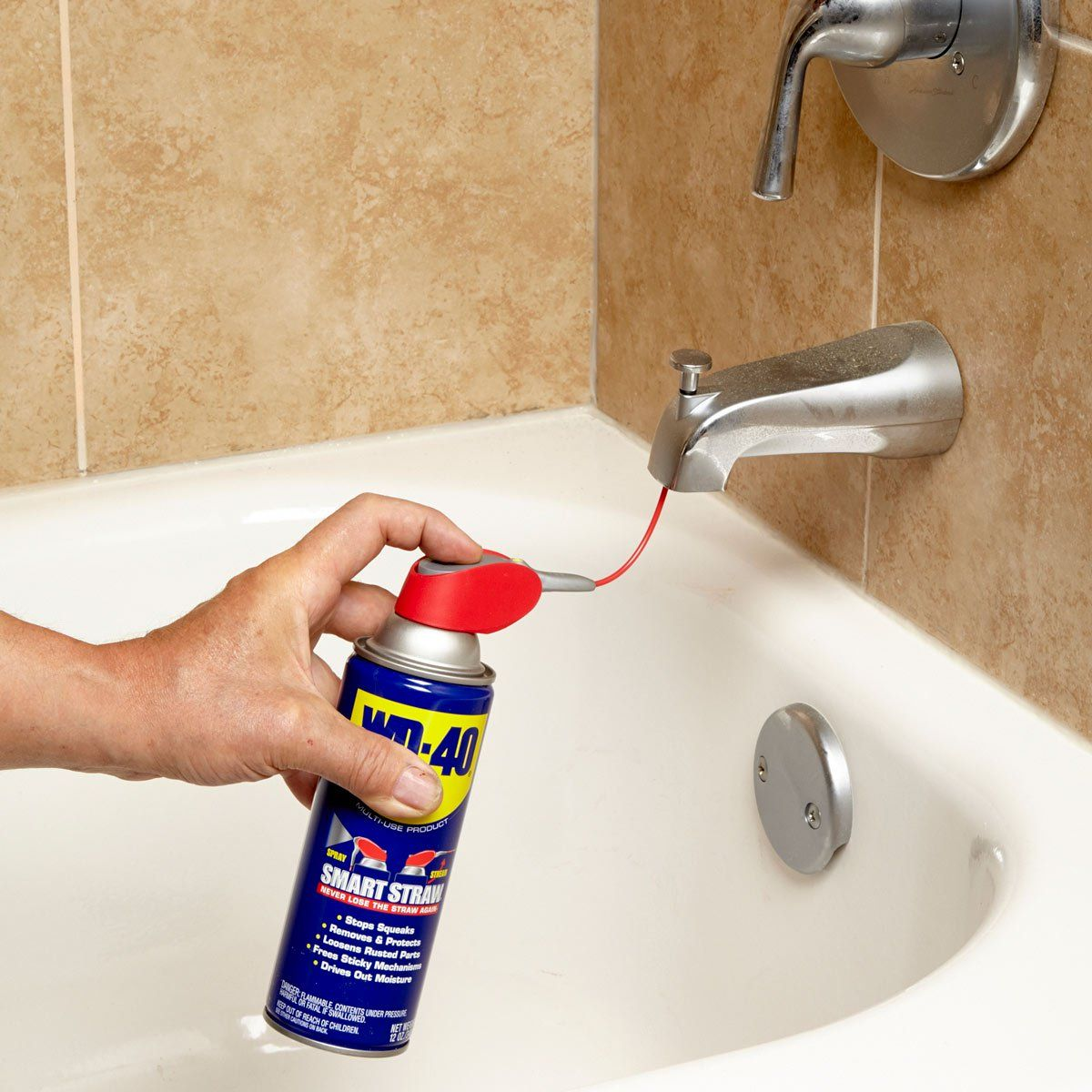 How to Fix a Sticking Tub Spout Diverter Cleaning hacks