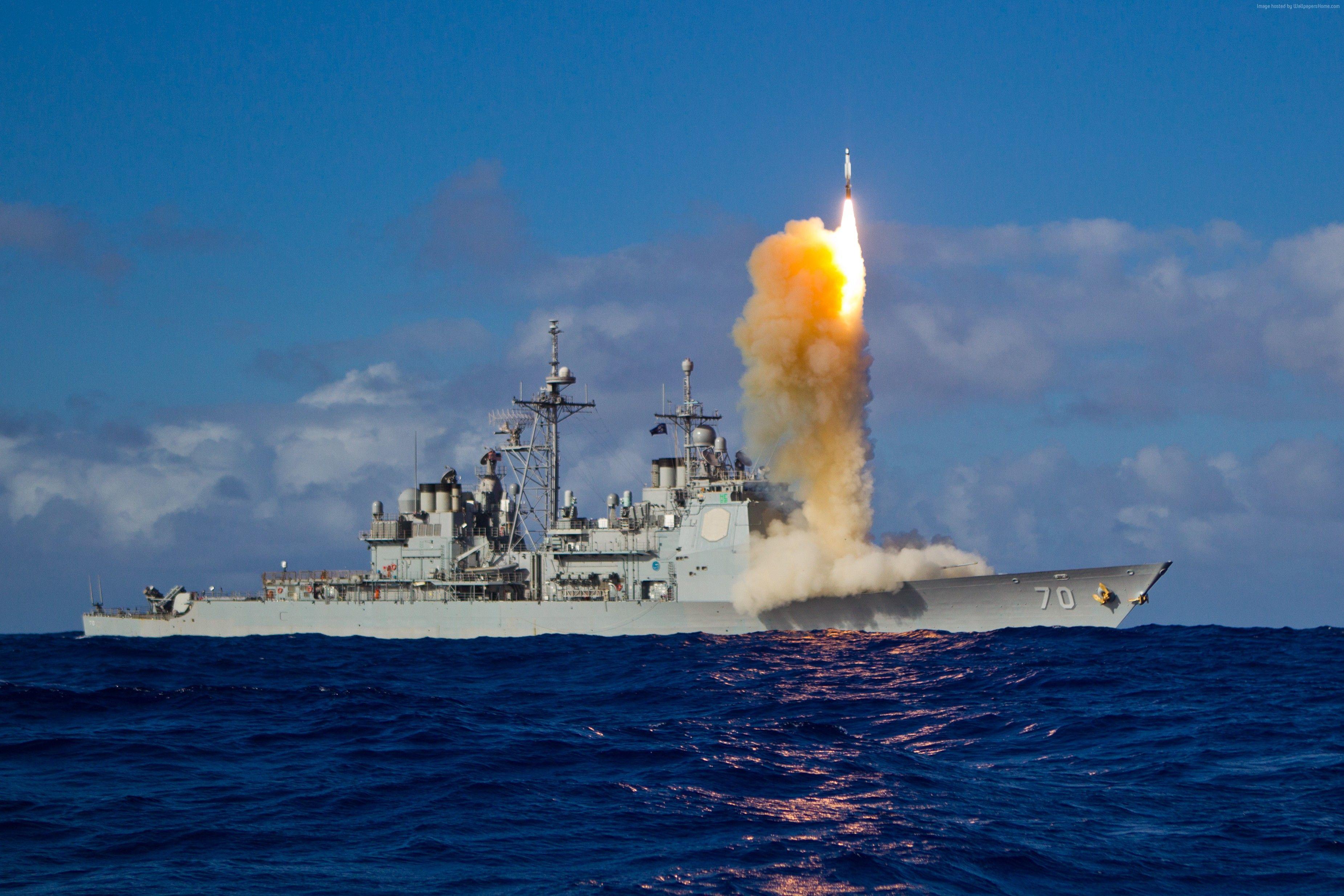 Image result for USS Lake Erie cruiser