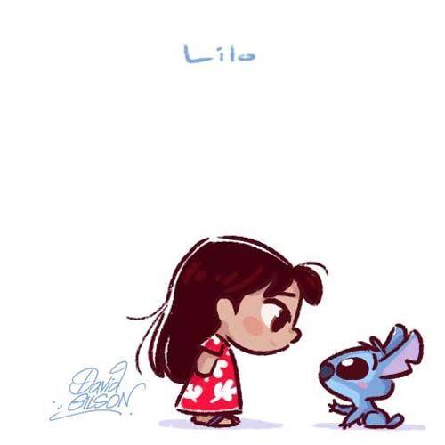 Personagens Disney E Amigos Em Estilo Chibi Kawaii Disney