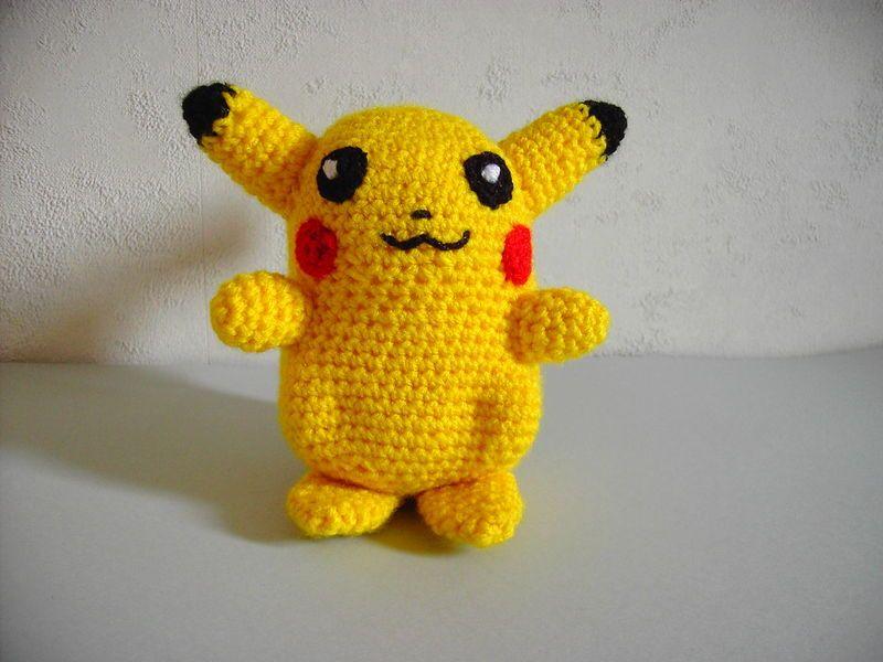 Amigurumi Patterns Pikachu : Pikachu les doudous de choupychou crochet pinterest