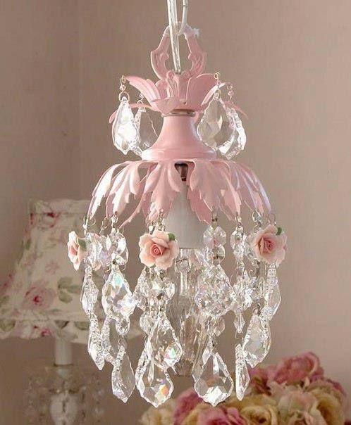 Shabby Chic Chandelier Ozdoby Oświetlenie Lampy I Dom