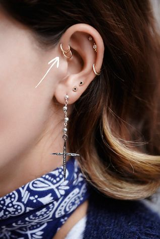 14k Rose Gold Ring Diamond Cross Earrings Pink Gold Jewelry