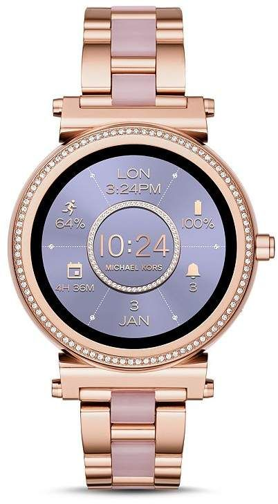 Michael Kors Sofie Touchscreen Smartwatch, 42mm Purple