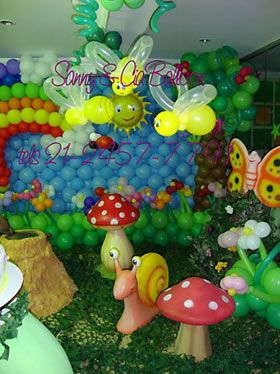 Jardim Encantado - Sanny Balloon