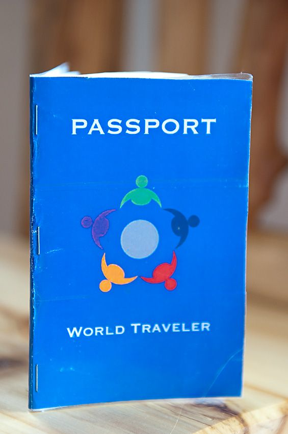 I Would Have Each Student Make Their Own Passport And When They