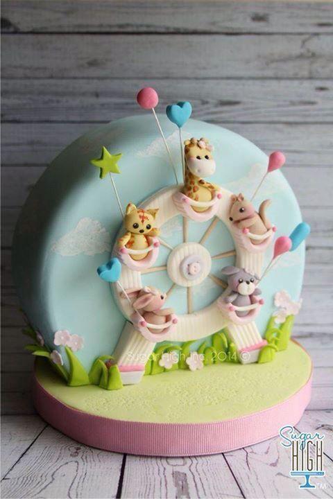 Ferris Wheel Cake Cakes Pinterest Cake Cake Decorating And