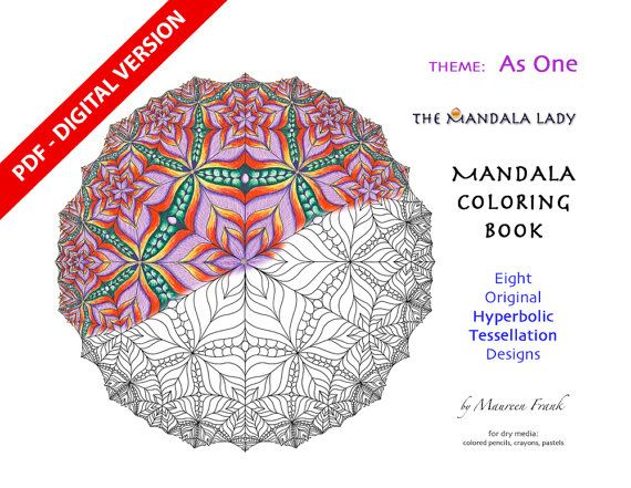 Celebration DIGITAL Mandala Coloring Book