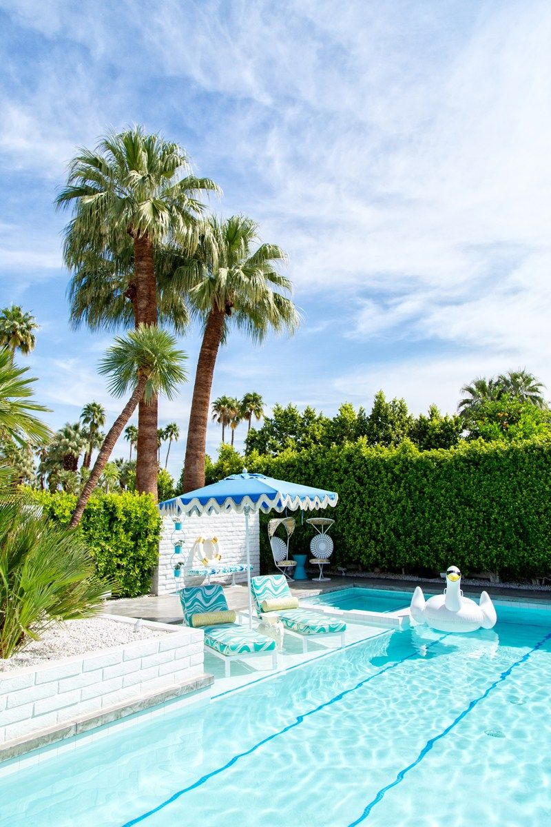 Desert jewel palm springs home tour interior design - Palm springs interior design style ...