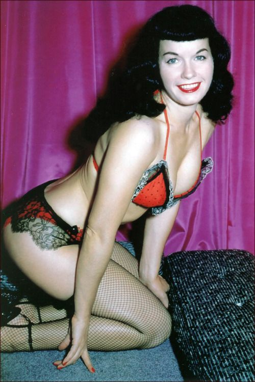 bettie page color # 17
