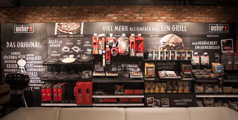 Weber original store grill pinterest for Weber grill berlin