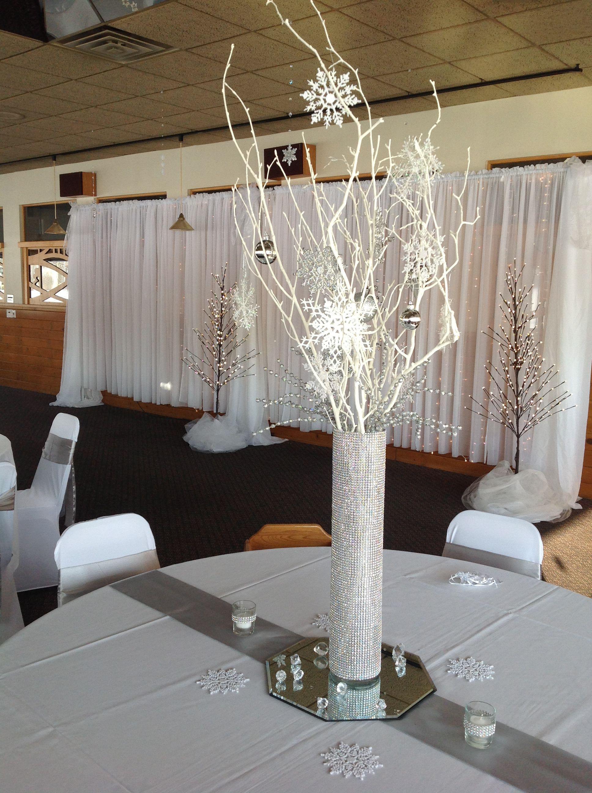 Winter Wonderland Reception Centerpiece   Winter ...