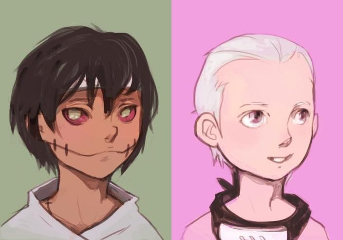 Kakuzu and Hidan kidverr