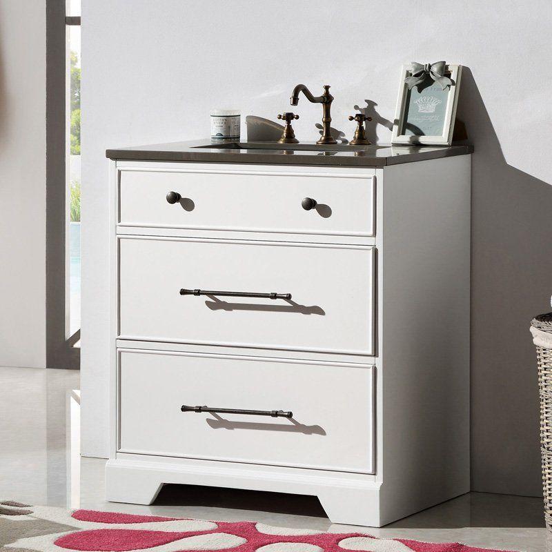 Legion Furniture WH6230 30 in. Single Bathroom Vanity - WH6230