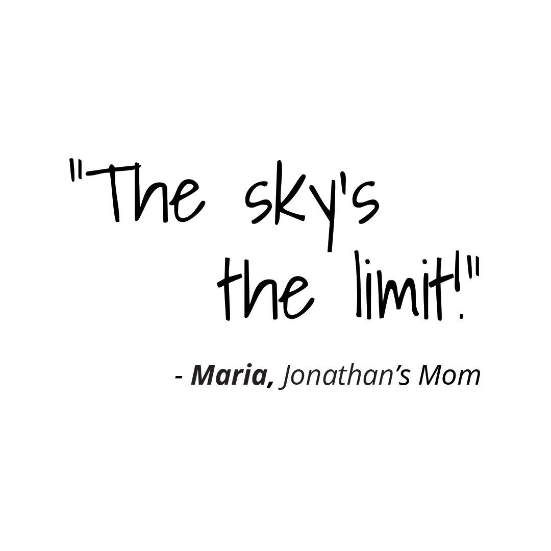 """""""The sky's the limit!"""""""