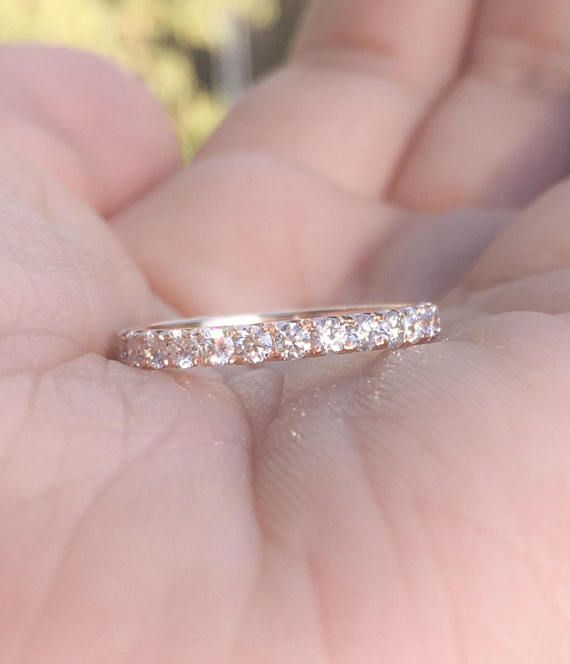 Diamond Eternity Band 1 Carat Matching Wedding Ring