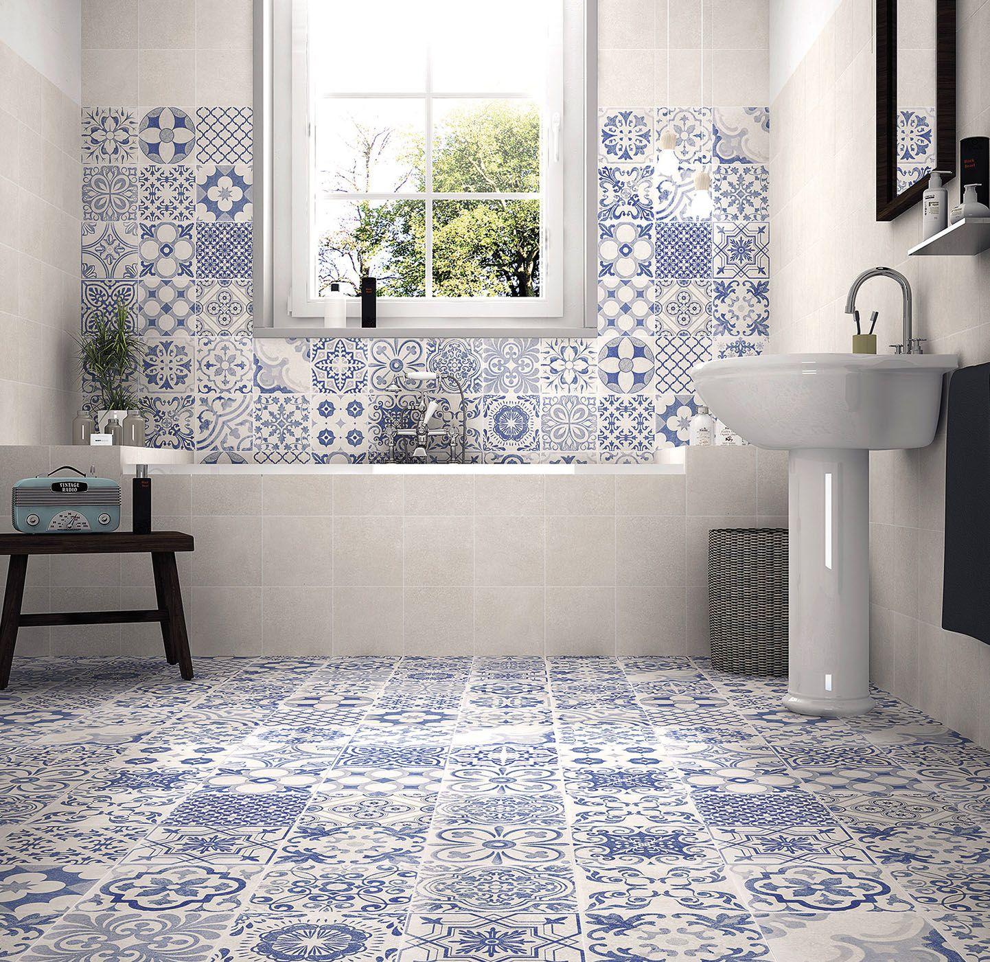 Över 1 000 bilder om badrum i mönstrad stil på pinterest