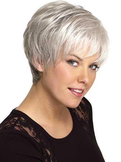 14 Short Hairstyles For Gray Hair | Haircuts, Gray hair and Short ...