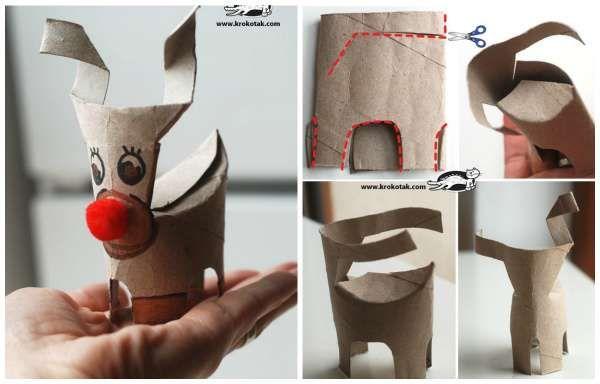 15 super id es d co avec des rouleaux de papier toilette for Idee deco noel avec rouleau papier toilette