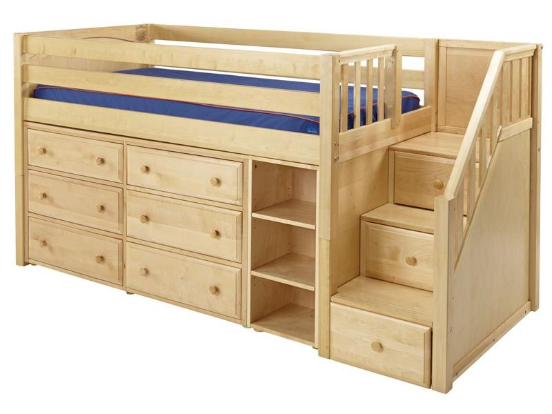 Kids Loft Beds With Storage Such A Cute Bed And Great Idea For Maximum Storage In A Small .