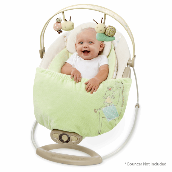Snuggle Stay Swing and Bouncer Blanket - Za Za Zoo™   New ...