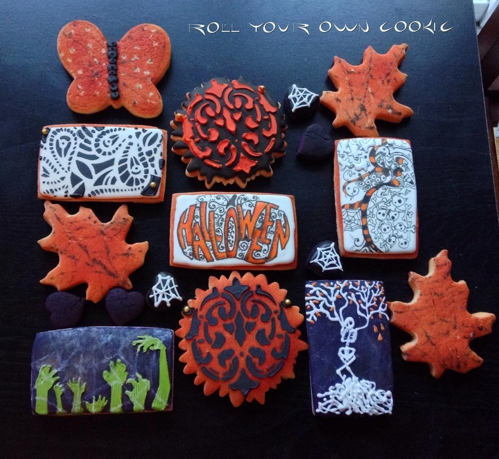 Halloween cookies for GO BO Bake Sale 2014 Cookie