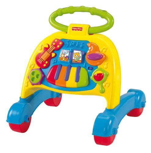 Fisher-Price Brilliant Basics Musical Activity Walker - http://www.discoverbaby.com/fisher-price/fisher-price-brilliant-basics-musical-activity-walker/