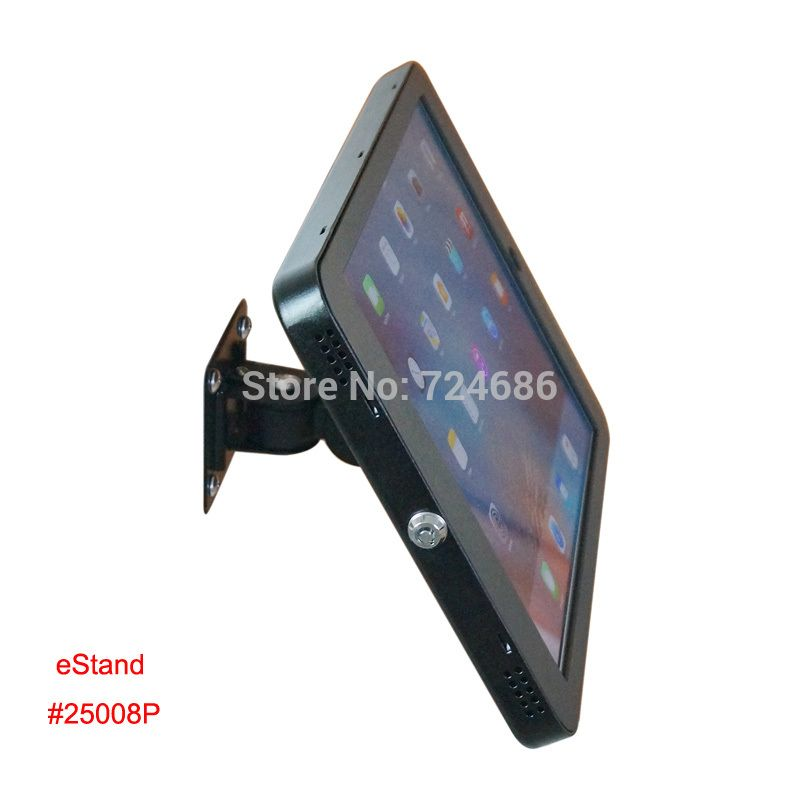For Ipad Pro 12 9 Security Wall Mount Display On Shop Mounting Lock Bracket Holder Support With Anti Theft Enclosure Ipad Pro 12 9 Ipad Pro Tablet Stand