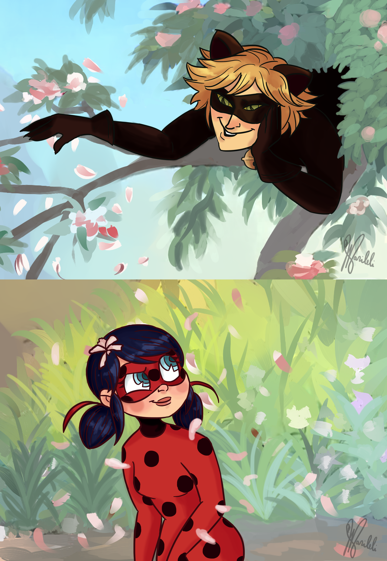 Marileli 50 Chat Noir The Alley Cat Ladybug Why Monsieur Your Name Seems To Cover Miraculous Ladybug Anime Miraculous Ladybug Miraculous Ladybug Memes