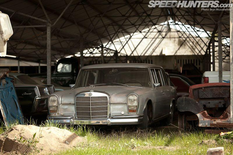 This Isn't A Scrapyard, It's A Museum Scrap car