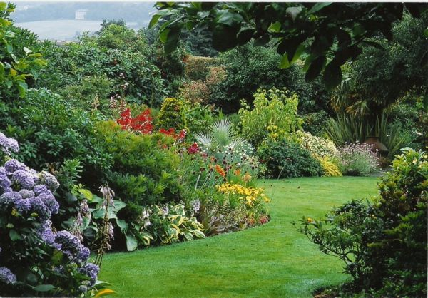 Blumen Gras Rasen Modern Bilder Moderne Gartengestaltung Ideen