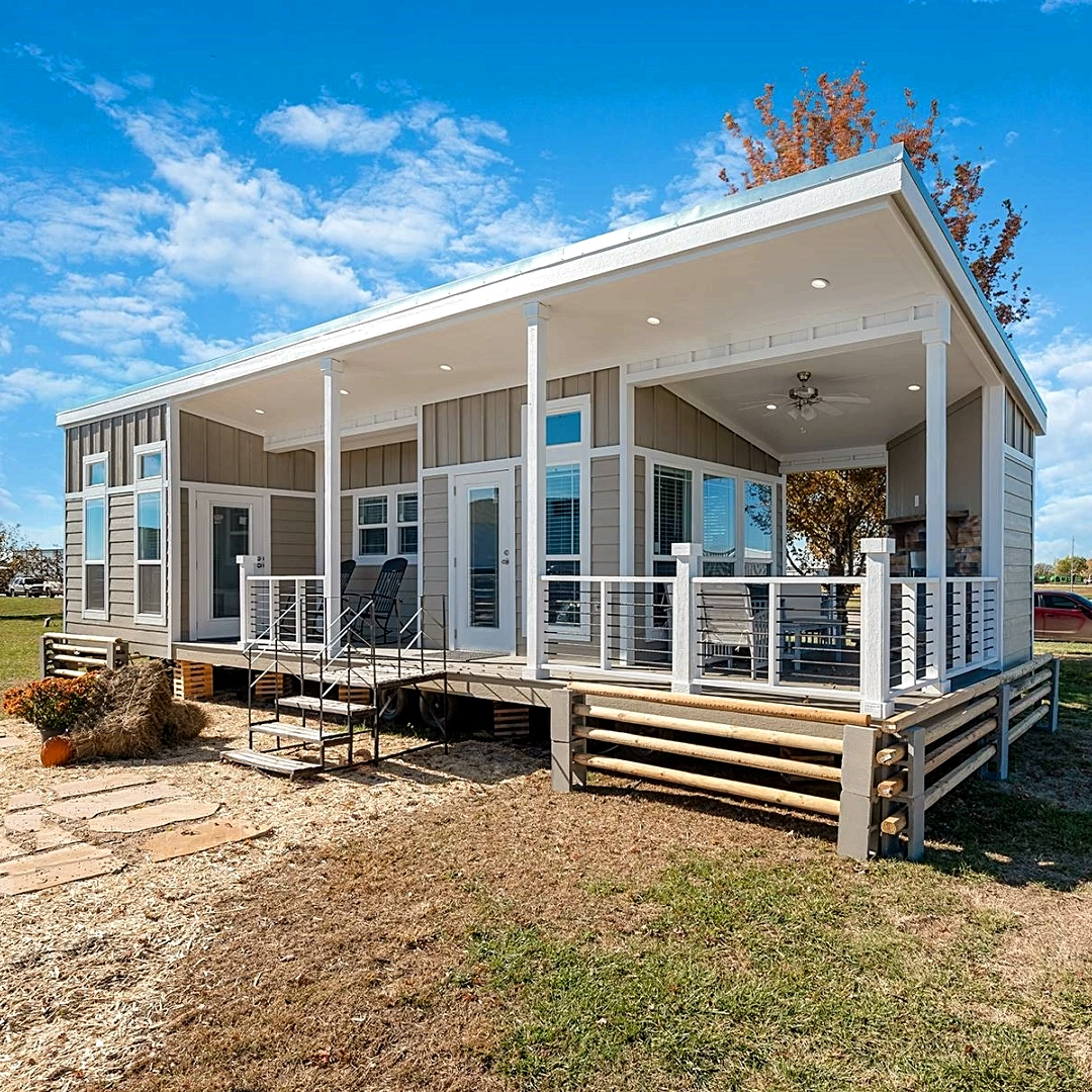Extremely Oversized Tiny House With Large Wraparound Porch!��️