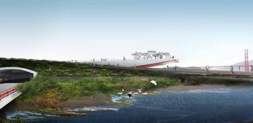 new presidio parklands competition san francisco designboom