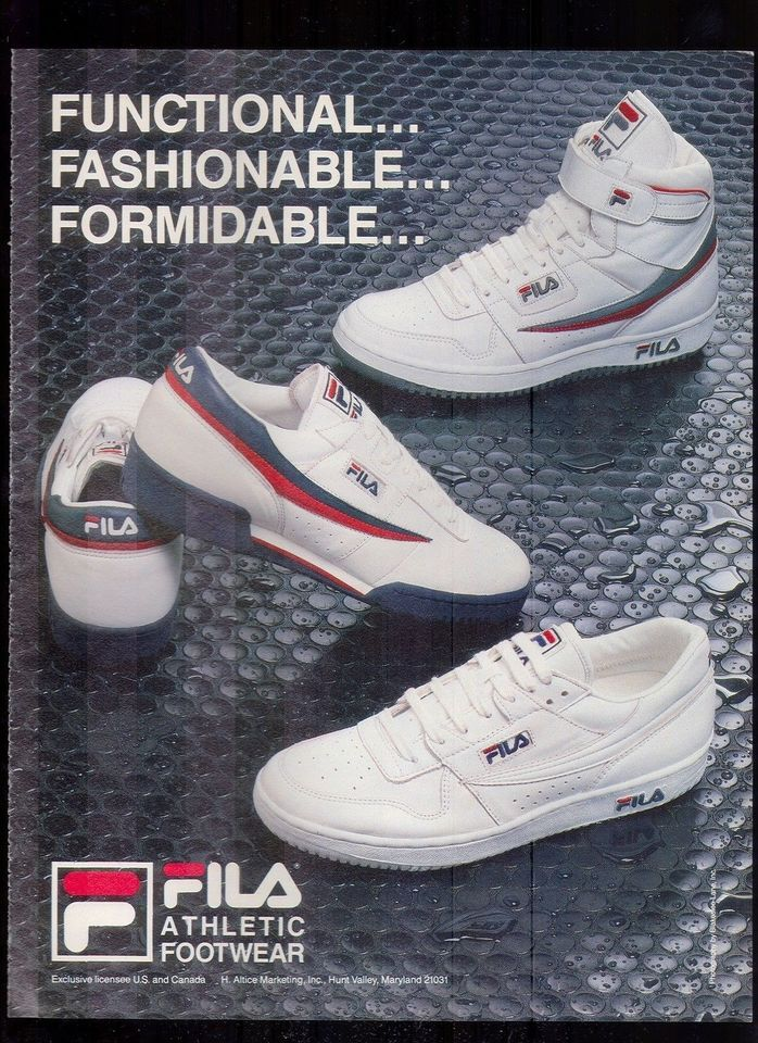 sale retailer 0751f 5017d Fila 1986  Appropriate Colorway  Hipster shoes, Retro shoes