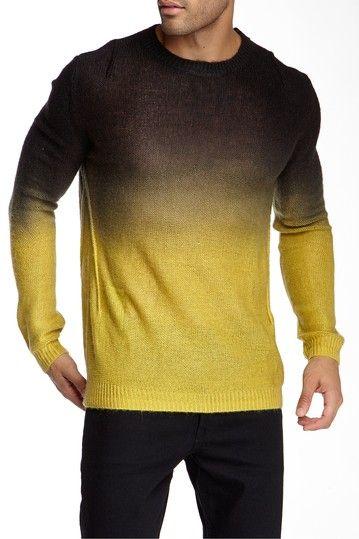 Image of Religion Dip Dye Sweater