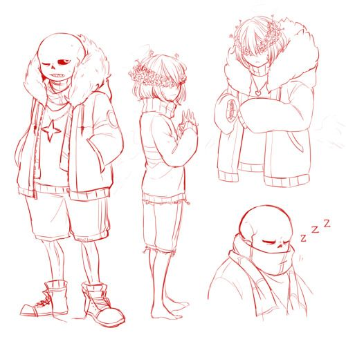 mao2kon: I just want to do some flowerfell's doodles or I can't sleep well. but it's morning now, 06:53 AM. alright.