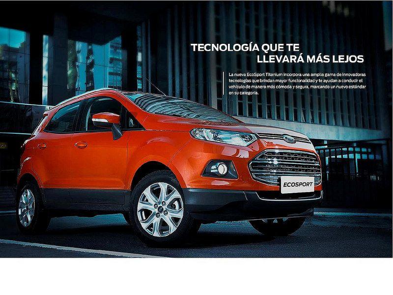 Brochure Ford Ecosport 2014 9 Ford Motors Venezuela