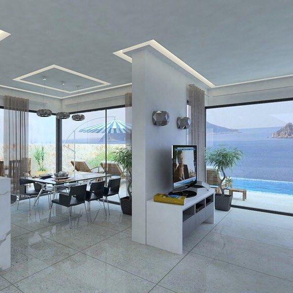 Spacious kitchen in Turkish home with sea views #POTW #Luxury #Lifestyle #Interiors #InteriorDesign #HomeDesign #HomeDecor #Home #Property #RealEstate #EstateAgent #الملكيه #Realtor #ترف #Design #Turkey #Özellik #Lüks #Ev #MillionDollarListing