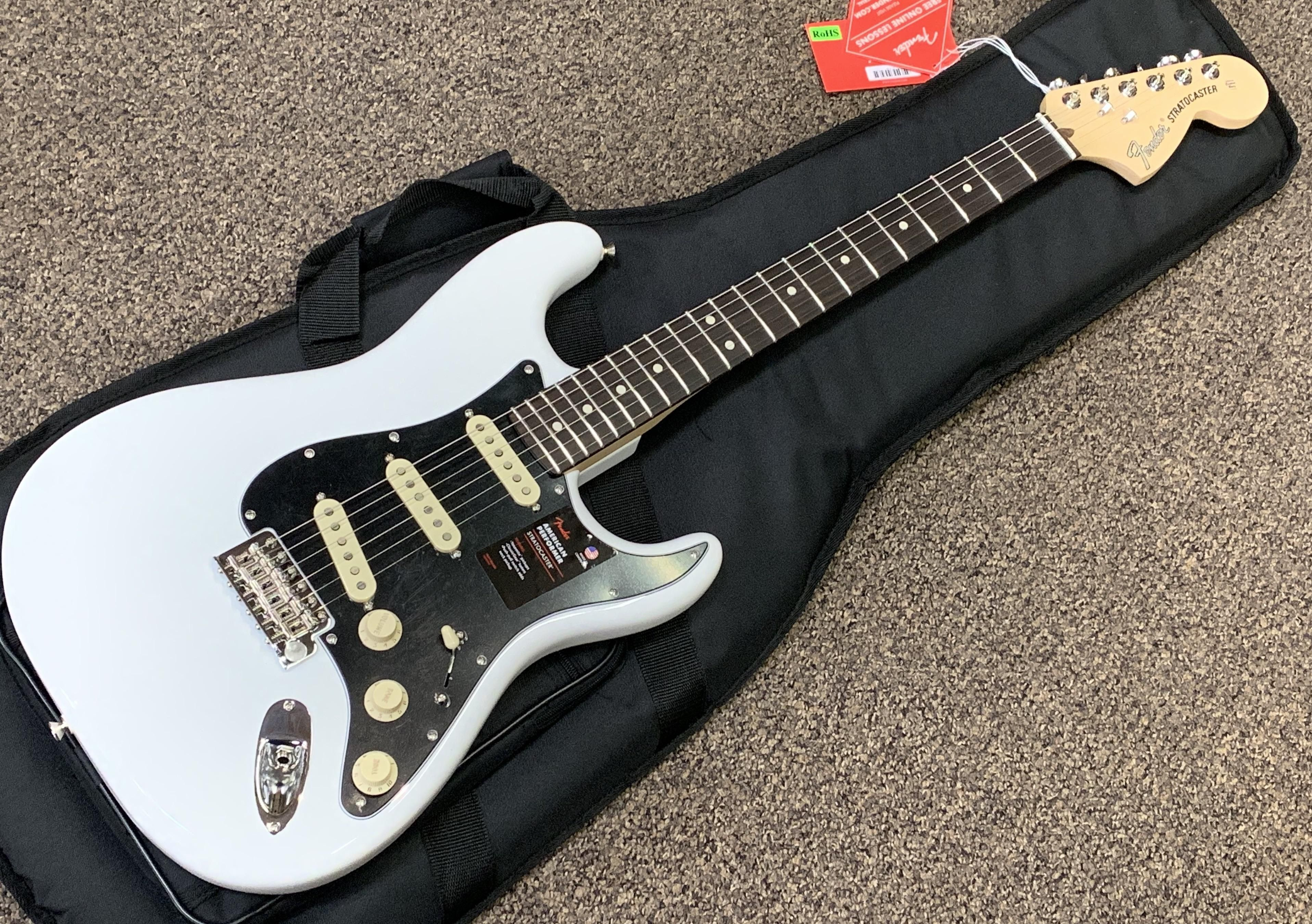 Just arrived in shop today 2019 Fender American Performer