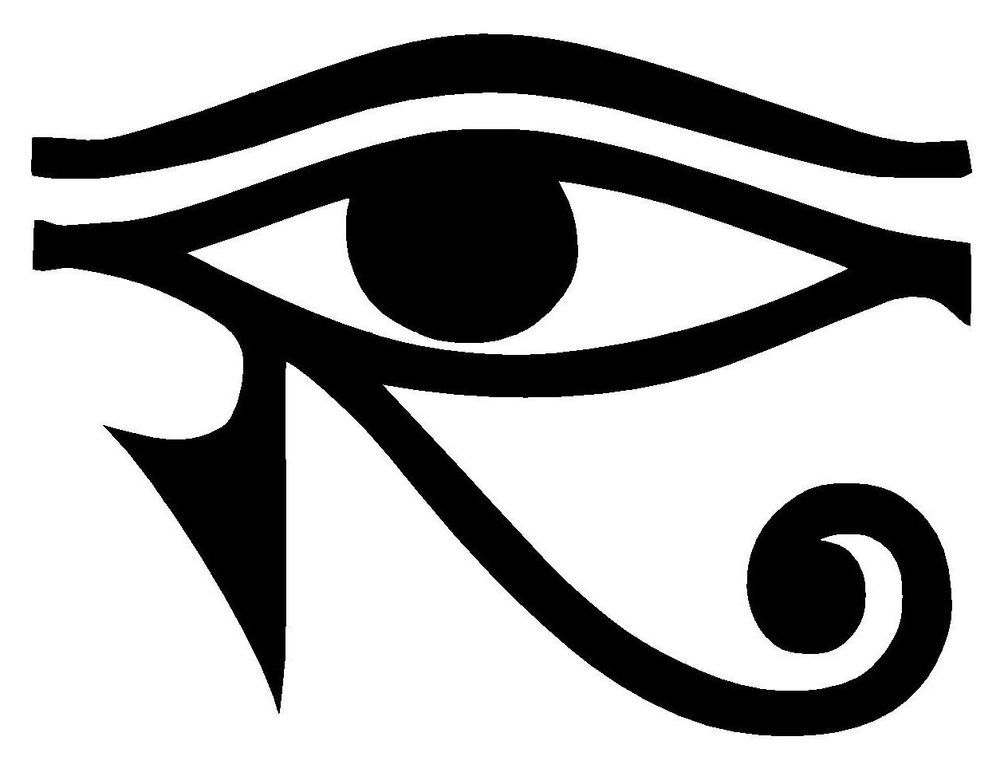Eye Of Ra Horus Egyptian God Vinyl Decal Sticker Window Wall Bumper