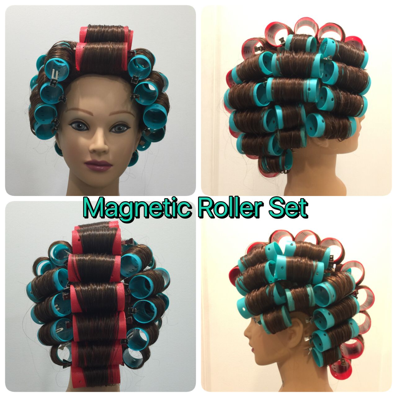 Magnetic Roller Set Roller Set Natural Hair Hair Rollers Natural Hair Styles