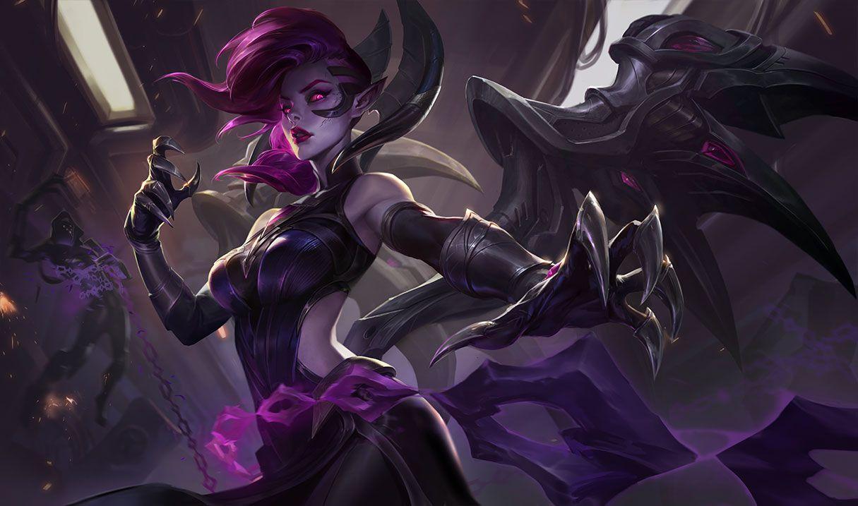 Blade Mistress Morgana League Of Legends League Of Legends Items League Of Legends Builds
