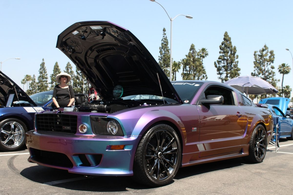 Robert Landry S Basf Extreme Rainbow Saleen Is Almost One Of A Kind Stangtv 2007 Ford Mustang Dream Cars Mustang