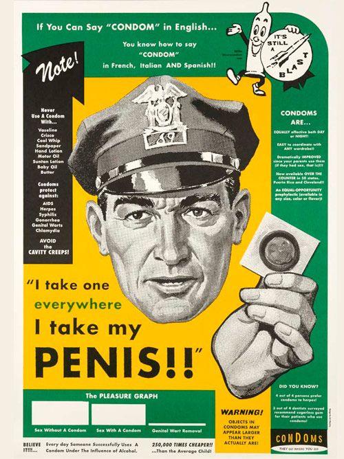 I take one everywhere I take my penis!