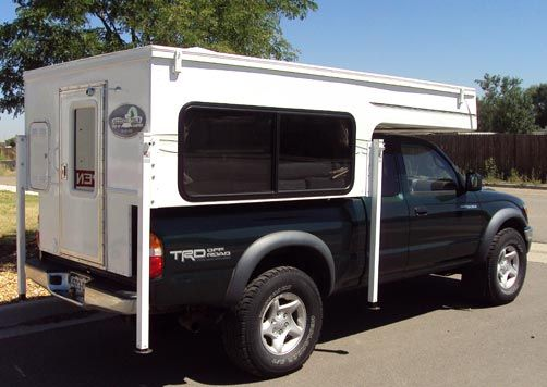 Phoenix Pulse Self Contained Truck Camper Pop Up Truck Campers