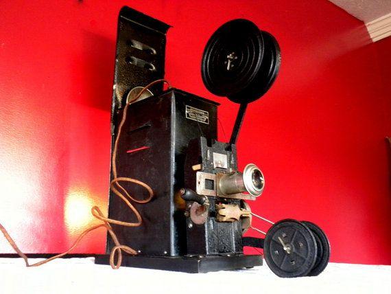 1920's Rare Model 261 W 35mm Keystone Moviegraph Silent Film Hand