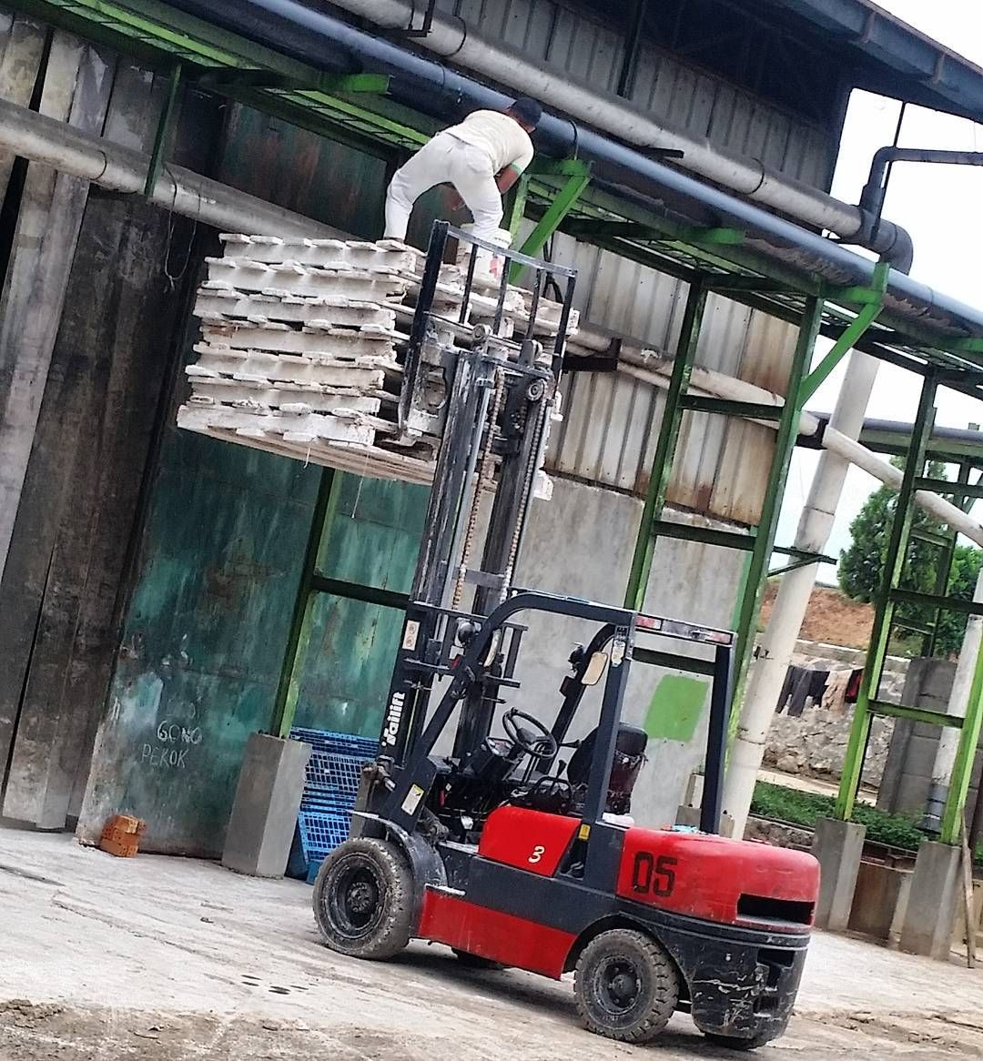 #Forklift safety? Only when it doesn't get in the way.