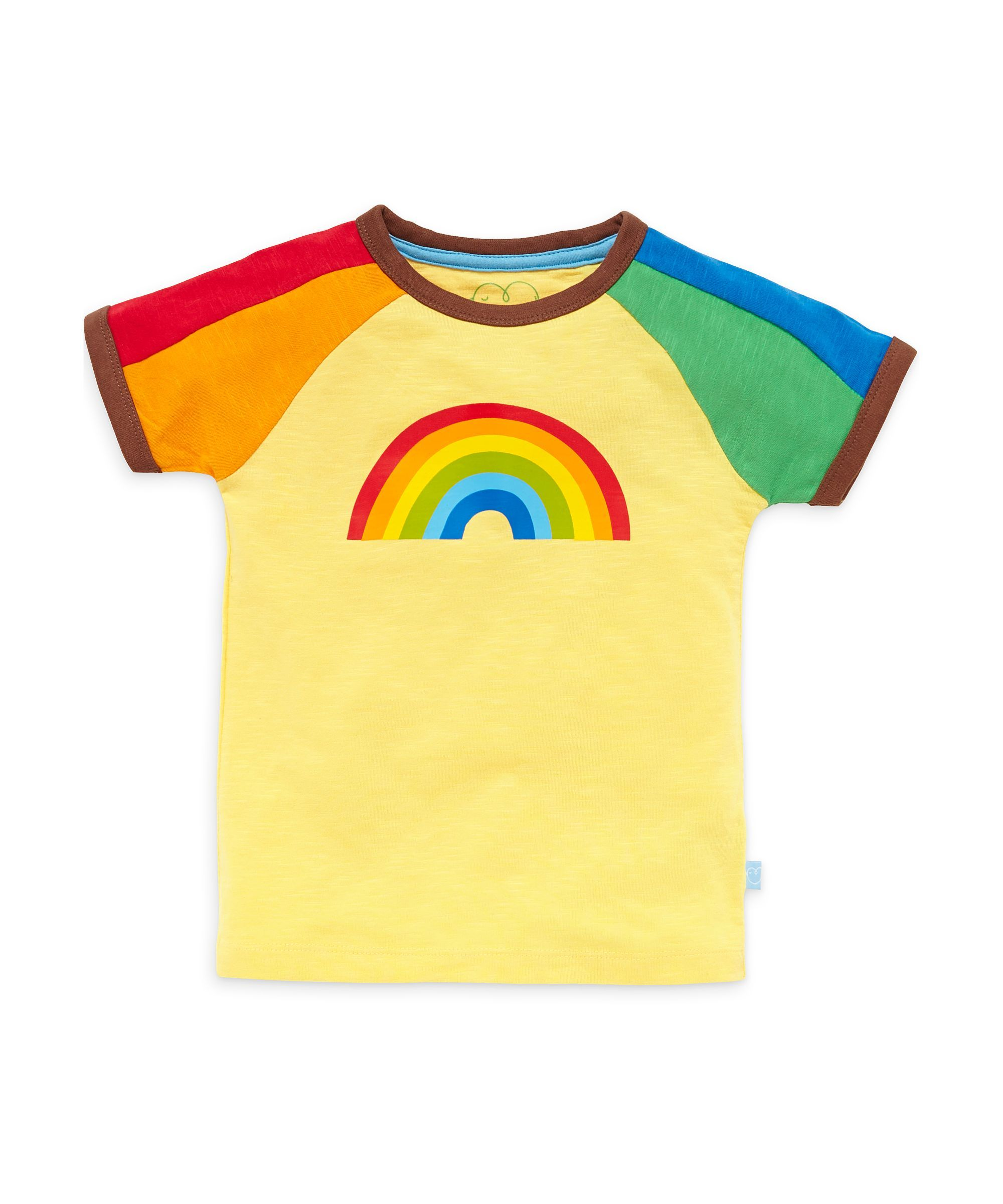 2e5eb6740 Little Bird by Jools Rainbow Print T-Shirt | baby | Little bird ...