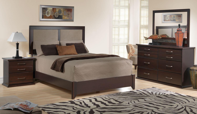 sherwood bedroom 5 pc queen bedroom set leonu0027s