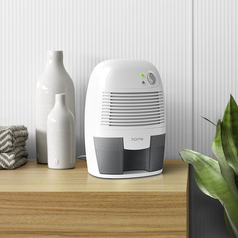 Home Small Dehumidifier For 1200 Cu Ft 150 Sq Ft Bathroom Or Closet 16 Oz Capacity Mini Quiet Safe Co Dehumidifiers Bathroom Gadgets Air Purifier